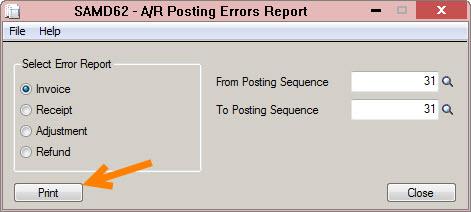 PJ Errors