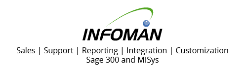 Infoman Help Center for Sage 300